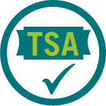 An icon showing the TSA logo